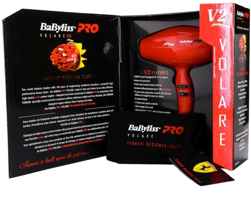 Babyliss Pro Dryers Voltare V2 Ferrari BABV2RE Suszarka
