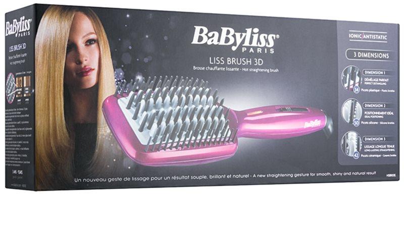 babyliss liss brush 3d hsb100e brosse lissante pour cheveux. Black Bedroom Furniture Sets. Home Design Ideas