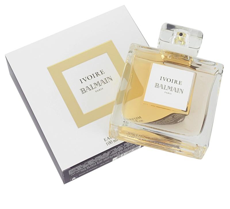 balmain ivoire eau de parfum pour femme 100 ml. Black Bedroom Furniture Sets. Home Design Ideas