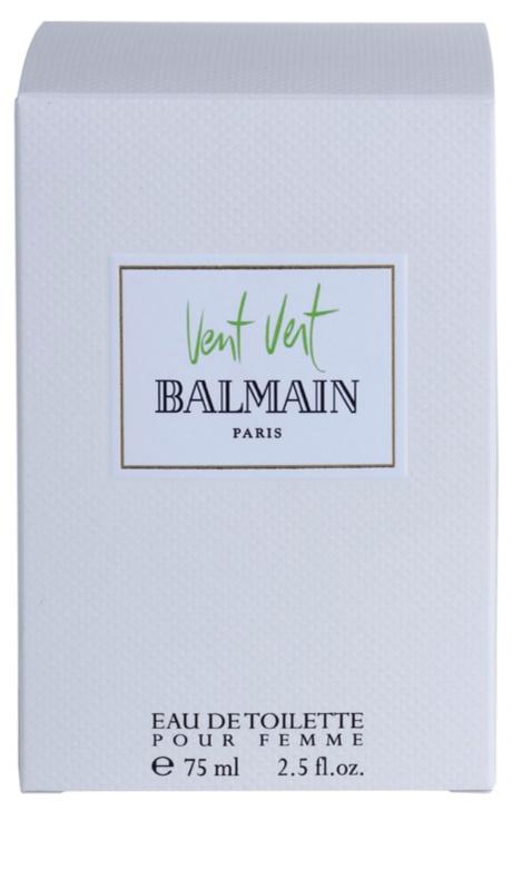 Balmain Vent Vert Eau De Toilette Pour Femme 75 Ml