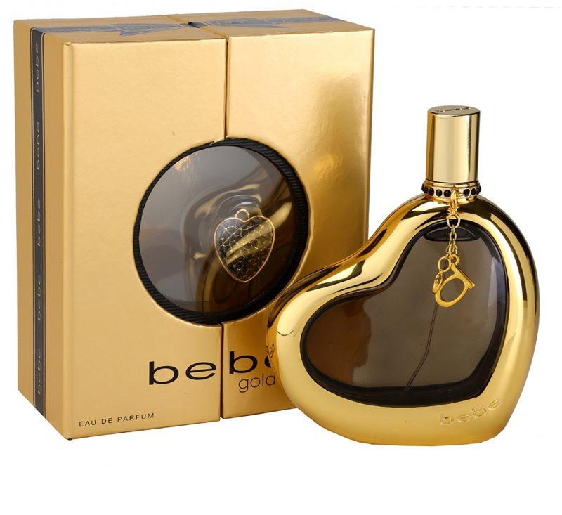 bebe perfumes gold eau de parfum pour femme 100 ml. Black Bedroom Furniture Sets. Home Design Ideas