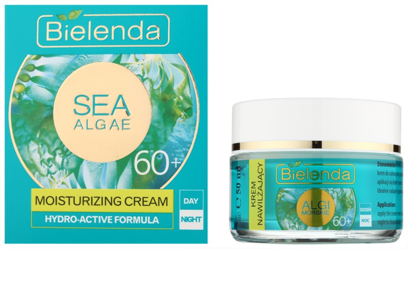 bielenda sea algae moisturizing cr me anti rides profondes 60. Black Bedroom Furniture Sets. Home Design Ideas