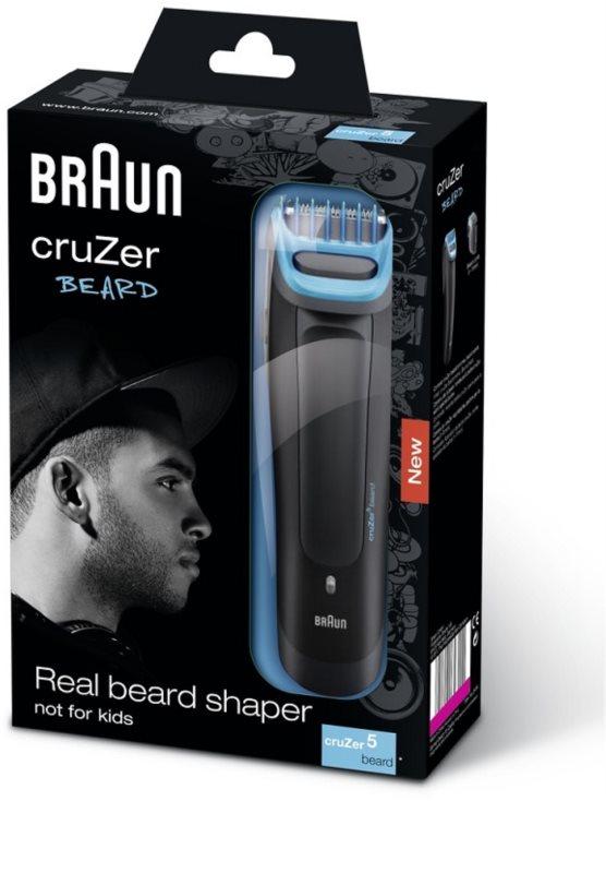 ... Braun CruZer 5 Beard zastřihovač vlasů a vousů 4 856b35f9528