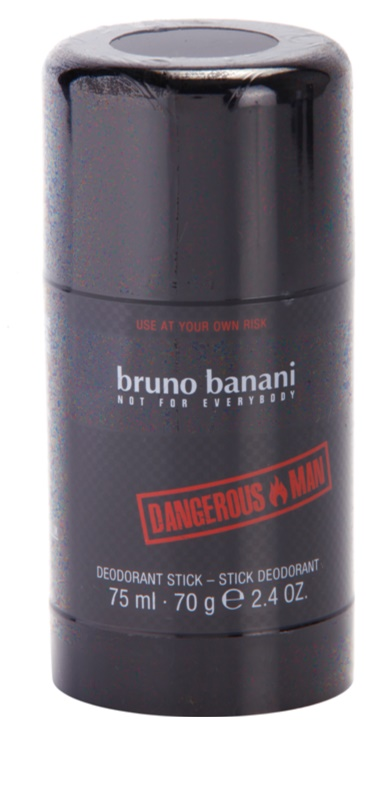bruno banani dangerous man deo stick f r herren 75 ml. Black Bedroom Furniture Sets. Home Design Ideas