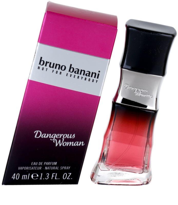 bruno banani dangerous woman eau de parfum n knek 40 ml. Black Bedroom Furniture Sets. Home Design Ideas
