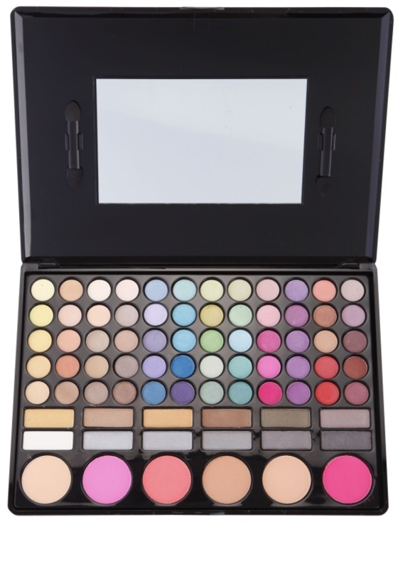 923c5216b8f887 BrushArt Color, palette de maquillage avec miroir et applicateur ...