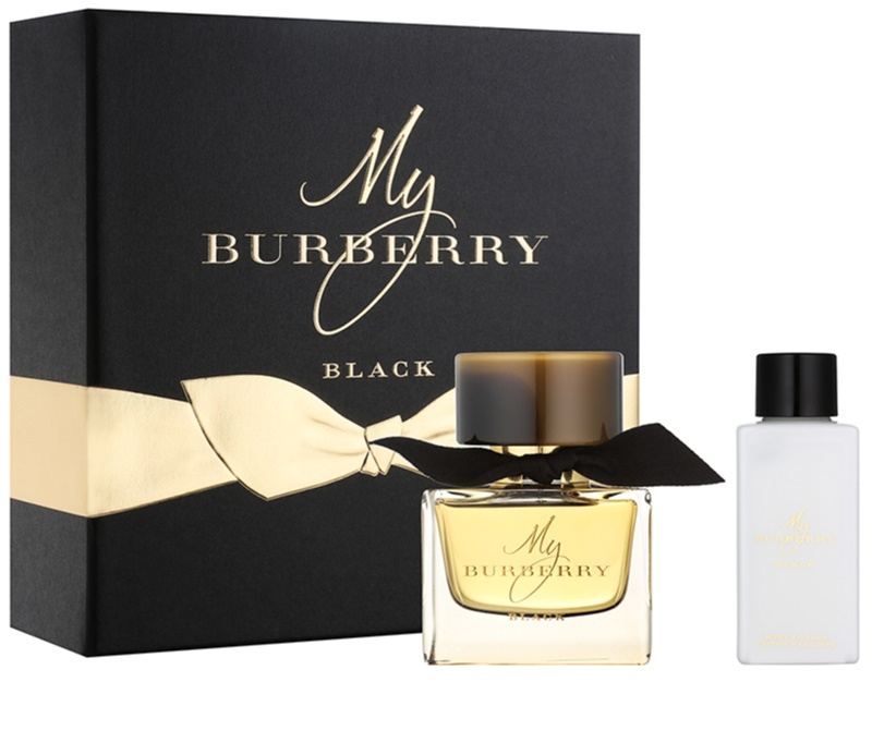 burberry my burberry black coffret cadeau iii. Black Bedroom Furniture Sets. Home Design Ideas