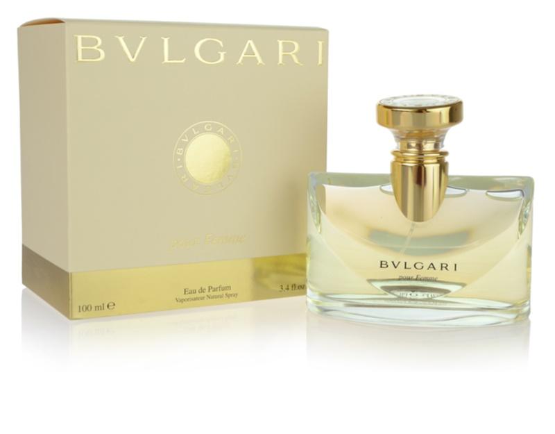 bvlgari pour femme eau de parfum f r damen 100 ml. Black Bedroom Furniture Sets. Home Design Ideas