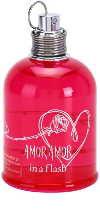 0df3e278f8 Cacharel Amor Amor In a Flash Eau de Toilette Tester para mulheres