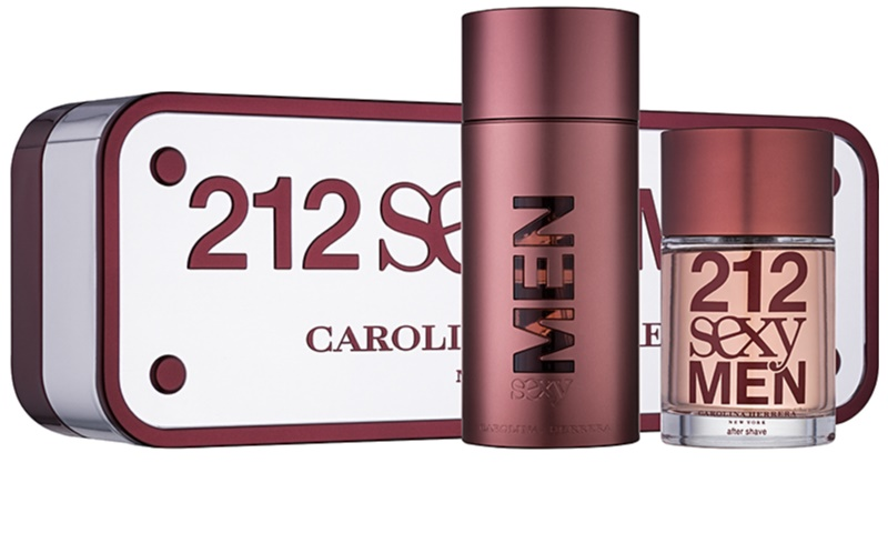 ace029d86 Carolina Herrera 212 Sexy Men, Gift Set V. | notino.co.uk