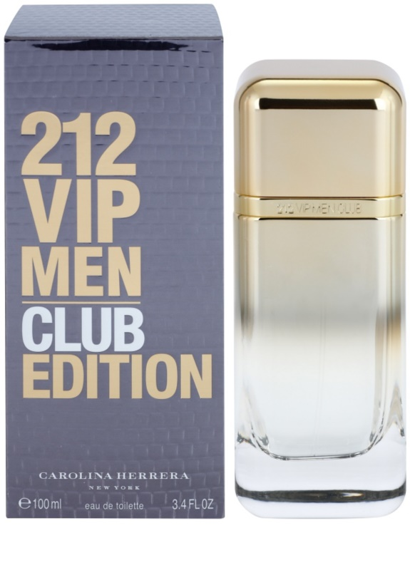 64ad6e683c Carolina Herrera 212 VIP Men Club Edition Eau de Toilette para homens