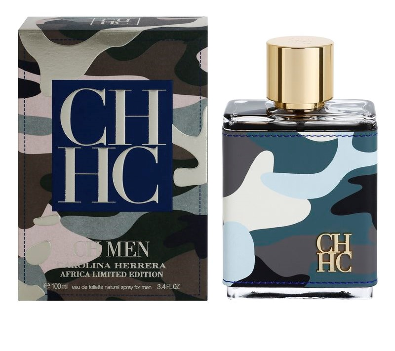 3dafd7b539435 Carolina Herrera CH Men Africa Limited Edition Eau de Toilette for Men  Limited Edition