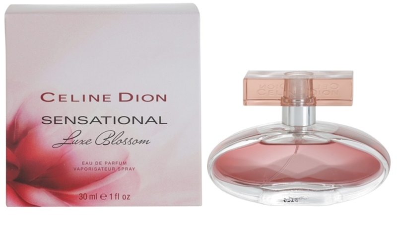 celine dion sensational luxe blossom eau de parfum pour femme 30 ml. Black Bedroom Furniture Sets. Home Design Ideas