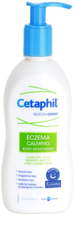 cetaphil restoraderm cr me hydratante corps pour peaux irrit es avec d mangeaisons. Black Bedroom Furniture Sets. Home Design Ideas