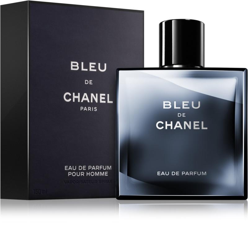 chanel bleu de chanel eau de parfum per uomo 150 ml. Black Bedroom Furniture Sets. Home Design Ideas