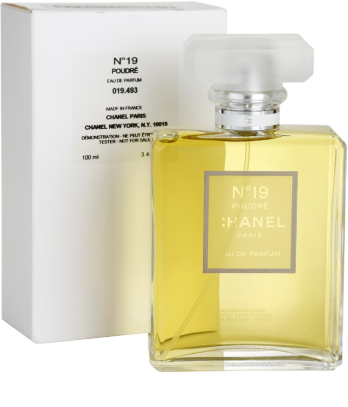 chanel n 19 poudr parf movan voda tester pro eny 100 ml. Black Bedroom Furniture Sets. Home Design Ideas