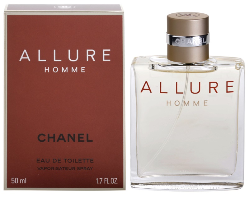 chanel allure homme eau de toilette f r herren 50 ml. Black Bedroom Furniture Sets. Home Design Ideas