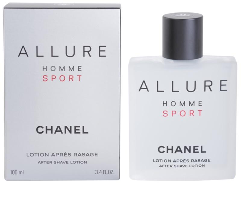 chanel allure homme sport after shave lotion for men 100 ml. Black Bedroom Furniture Sets. Home Design Ideas