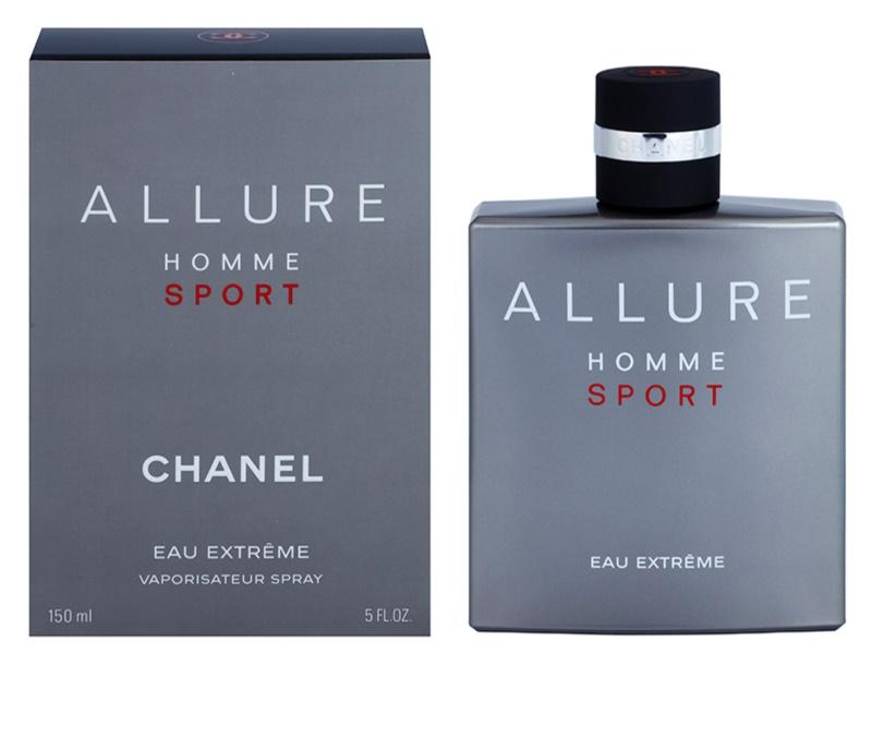 chanel allure homme sport eau extreme eau de parfum f r herren 150 ml. Black Bedroom Furniture Sets. Home Design Ideas