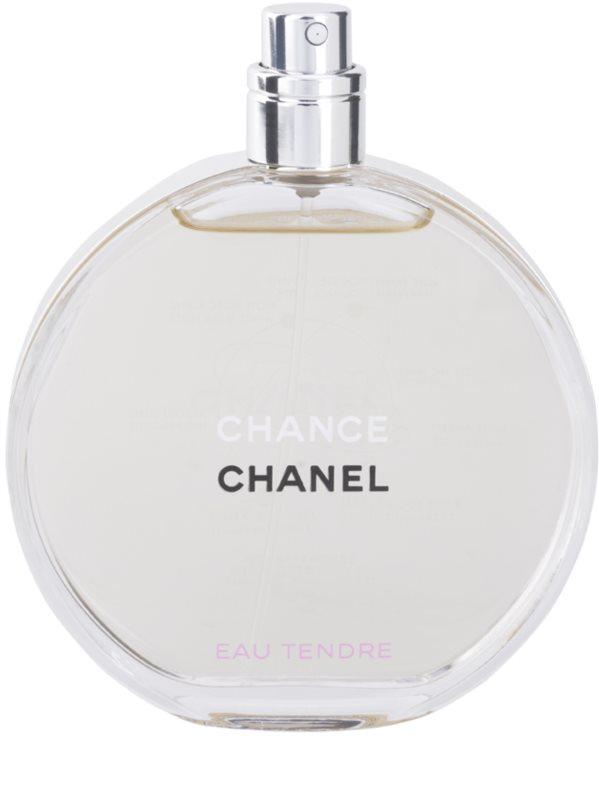 423e364e6 Chanel Chance Eau Tendre, eau de toilette tester para mujer 100 ml ...