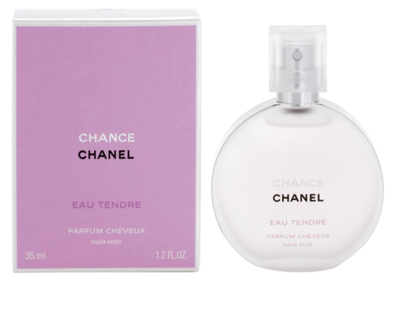 chanel chance eau tendre perfume para el pelo para mujer 35 ml. Black Bedroom Furniture Sets. Home Design Ideas