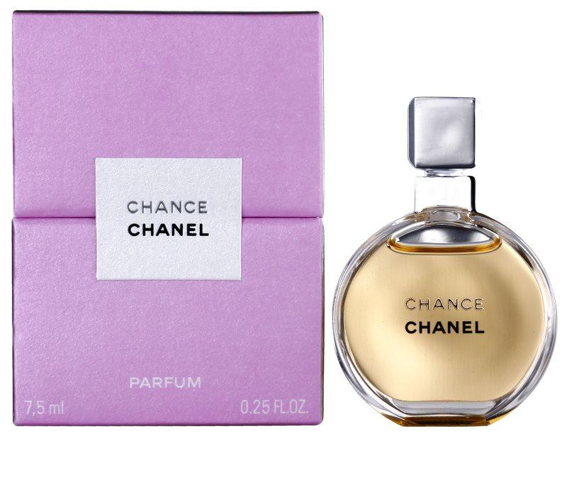chanel chance parfum parf m f r damen 7 5 ml ohne zerst uber. Black Bedroom Furniture Sets. Home Design Ideas