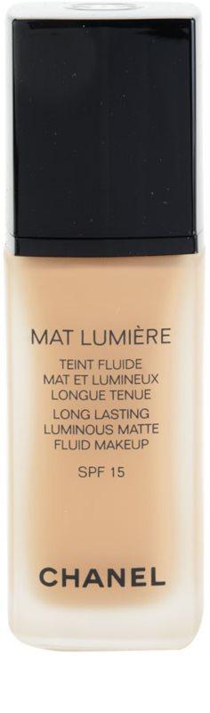 29bbf69622 Chanel Mat Lumière zmatňujúci make-up SPF 15 ...