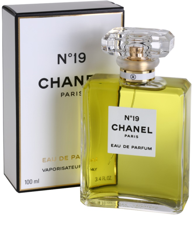 chanel n 19 eau de parfum for women 100 ml. Black Bedroom Furniture Sets. Home Design Ideas