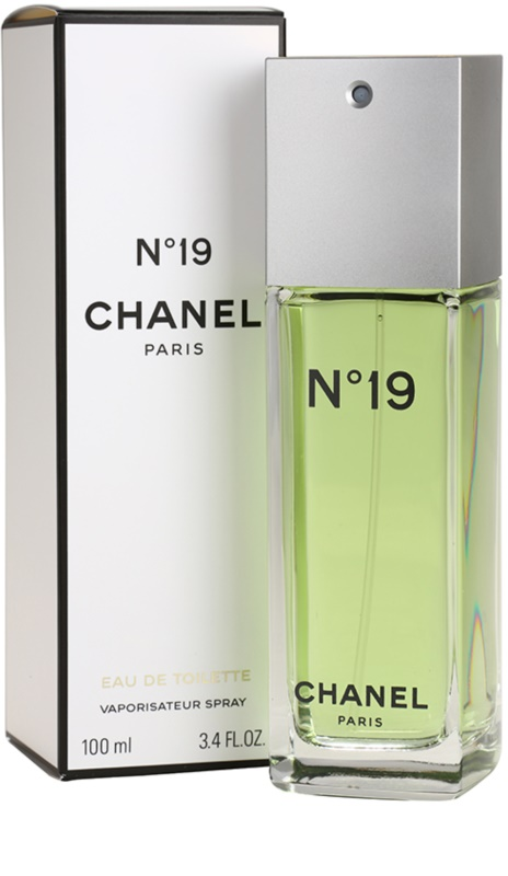 chanel n 19 eau de toilette pour femme 100 ml. Black Bedroom Furniture Sets. Home Design Ideas