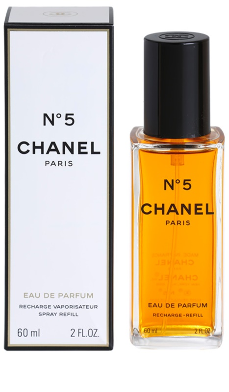 chanel n 5 eau de parfum for women 60 ml refill with. Black Bedroom Furniture Sets. Home Design Ideas