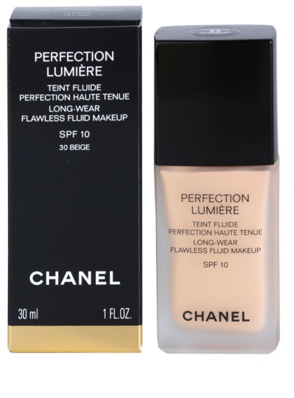 c81e98fbdc317 ... Chanel Perfection Lumière podkład - fluid nadający idealny wygląd 3 ...