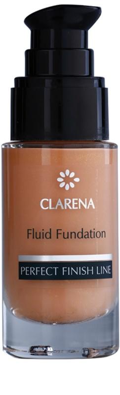 clarena perfect finish line satin aufhellendes make up fluid f r trockene bis empfindliche haut. Black Bedroom Furniture Sets. Home Design Ideas