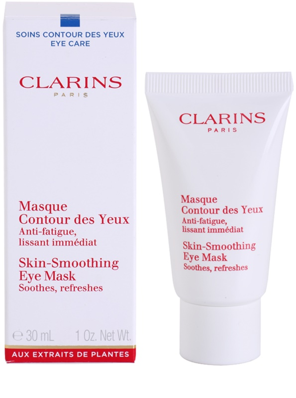 clarins eye care masque yeux anti signes de fatigue et anti stress. Black Bedroom Furniture Sets. Home Design Ideas
