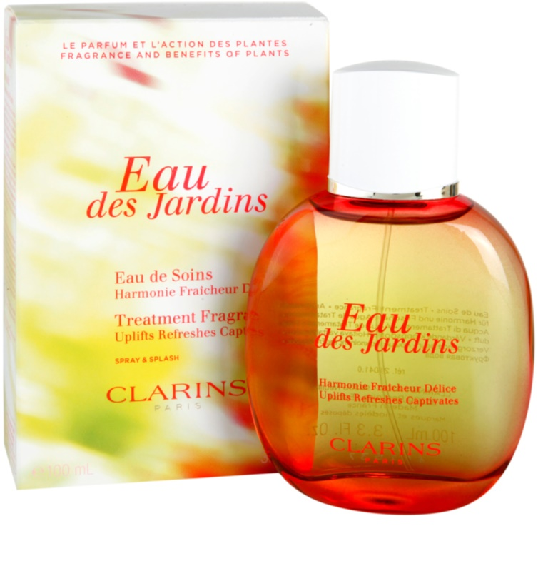 clarins eau des jardins orze wiaj ca woda dla kobiet 100 ml. Black Bedroom Furniture Sets. Home Design Ideas