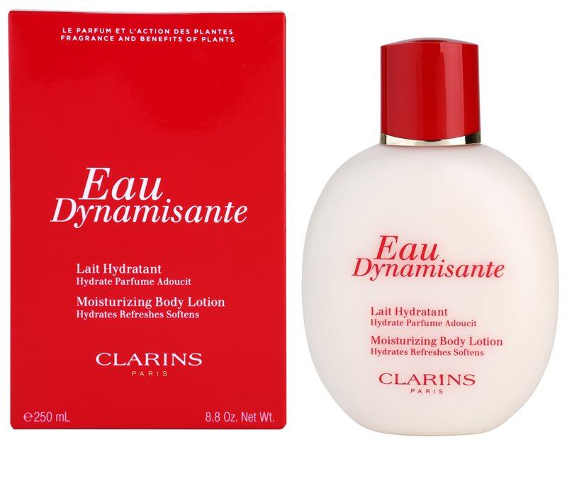 Clarins eau dynamisante lait corps pour femme 250 ml - Clarins eau dynamisante mousse douche ...