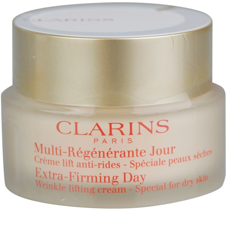 clarins extra firming cr me lifting de jour anti rides pour peaux s ches. Black Bedroom Furniture Sets. Home Design Ideas