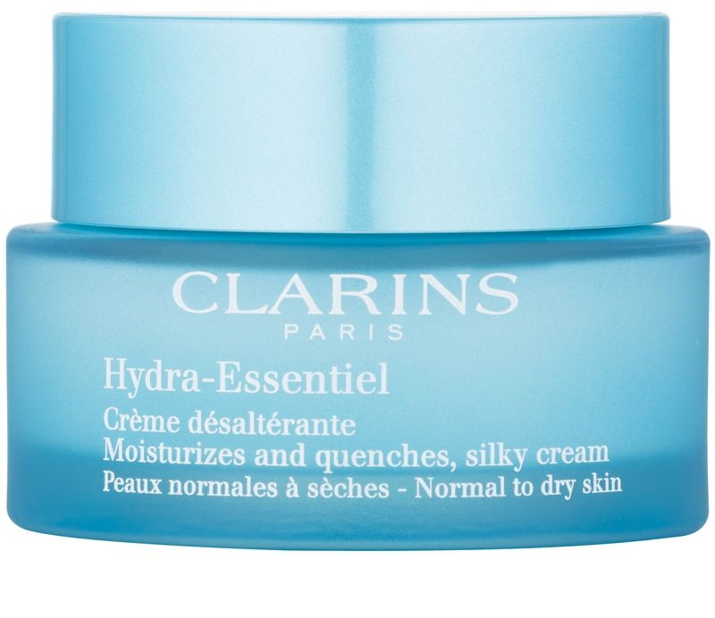 clarins hydra essentiel cr me soyeuse hydratante pour peaux normales s ches. Black Bedroom Furniture Sets. Home Design Ideas