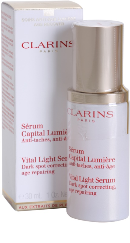 clarins vital light serum how to use