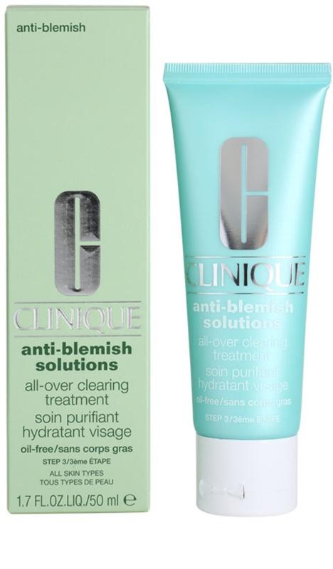 clinique anti blemish solutions cr me hydratante pour peaux probl mes acn. Black Bedroom Furniture Sets. Home Design Ideas