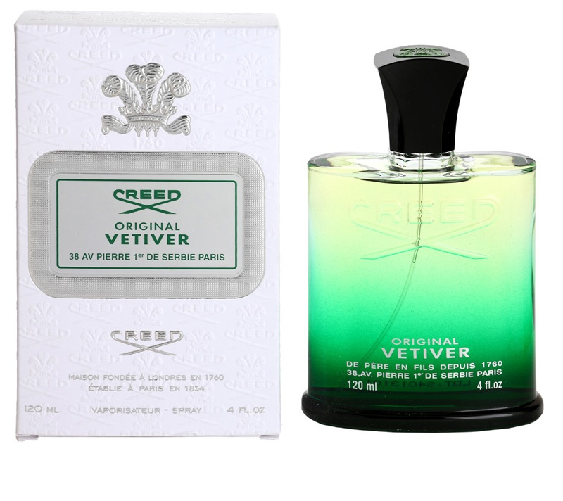 creed original vetiver eau de parfum f r herren 120 ml. Black Bedroom Furniture Sets. Home Design Ideas