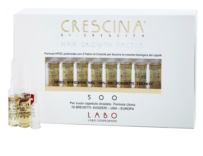 'Can I Use Crescina With My Male Hair Loss Treatments?'