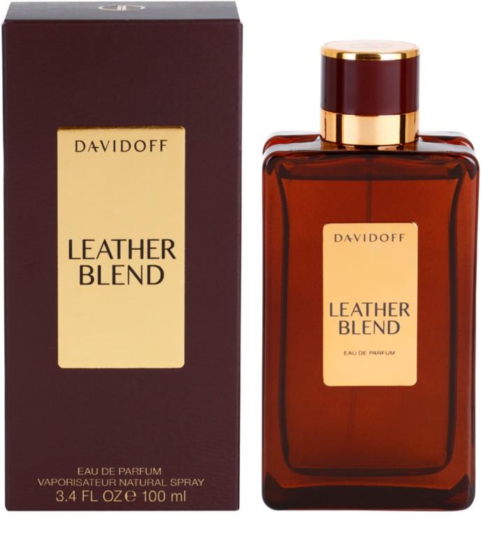 davidoff leather blend eau de parfum f r herren 100 ml. Black Bedroom Furniture Sets. Home Design Ideas