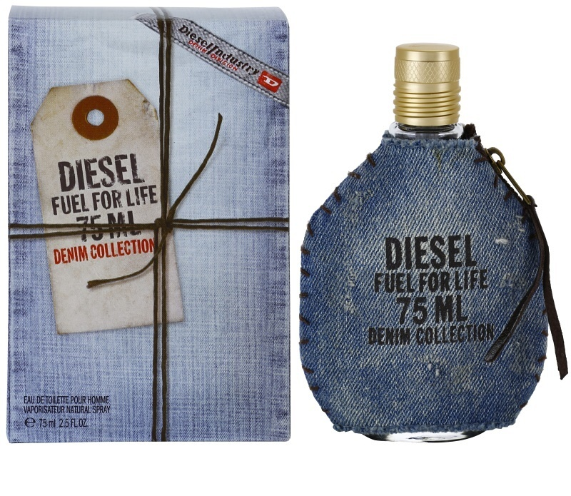 diesel fuel for life homme denim eau de toilette for men. Black Bedroom Furniture Sets. Home Design Ideas