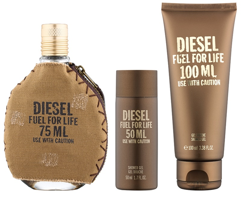 diesel fuel for life homme coffret cadeau ii. Black Bedroom Furniture Sets. Home Design Ideas