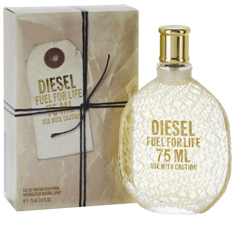 diesel fuel for life femme eau de parfum for women 75 ml. Black Bedroom Furniture Sets. Home Design Ideas