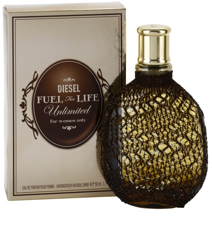 diesel fuel for life femme unlimited eau de parfum pour femme 50 ml. Black Bedroom Furniture Sets. Home Design Ideas