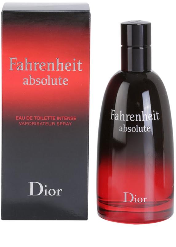 Dior Fahrenheit Absolute Eau De Toilette Für Herren 100 Ml Notinode