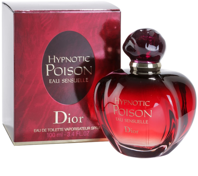 dior poison hypnotic poison eau sensuelle eau de toilette para mulheres 100 ml. Black Bedroom Furniture Sets. Home Design Ideas