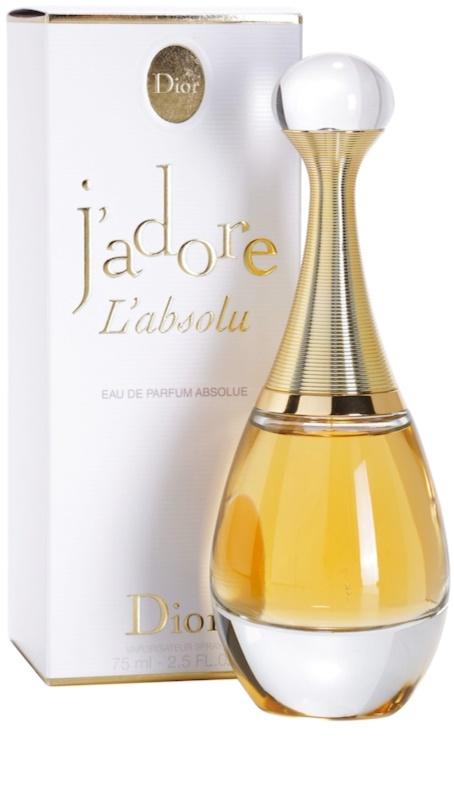 dior j 39 adore l 39 absolu eau de parfum para mujer 75 ml. Black Bedroom Furniture Sets. Home Design Ideas