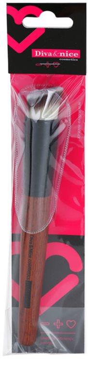Diva nice cosmetics accessories pensula pentru machiaj cu fibre de nailon - Diva nice cosmetics accessories ...